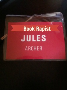 """""""Ma'am, the lanyard clearly says 'rapist'."""""""
